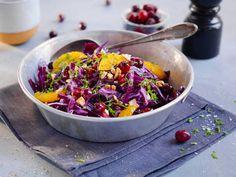Tilbehør til kalkun Crunches, Quinoa, Acai Bowl, Cabbage, Salads, Thanksgiving, Vegetables, Breakfast, Frisk