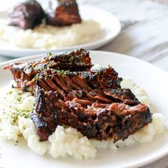 These melt-in-your-mouth short ribs are decadent thanks to the sous vide. Paired…