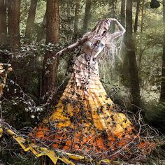 Kirsty Mitchell Wonderland - She'll Wait For You In The Shadows Of Summer