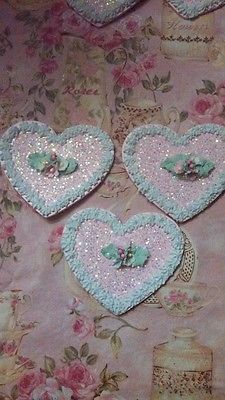 Set of 3 chic Cookies Fake Food HP roses Faux Snacks Desserts Staging Props ENDS IN 2 HOURS