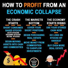 "Business Driven Dream on Instagram: ""How To Profit From An ECONOMIC Collapse... - The original version of this comes from @rvn_finance and is mostly based on the stock market…"""