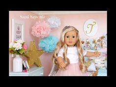 American Girl Doll House VIDEO Tour- Tenney Grant's Room - YouTube- Sami Says AG
