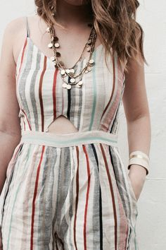 @americaneagle #romper @luckybrand #necklace