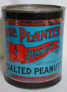 Mr Peanut tin