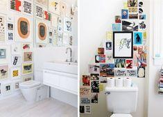 Hipster Apartment Modern Decor Bathroom Art Bedroom
