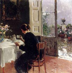 Vincenzo Irolli.  At The Window