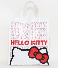 - HELLO KITTY REPEAT PATTERN WHITE REUSABLE TOTE LOUNGEFLY OFFICIAL WEBSITE
