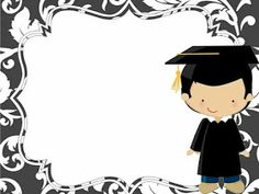 JujoBoro: Oklevél Graduation Images, Graduation Banner, Kindergarten Graduation, Graduation Cards, School Border, School Frame, School Gifts, Painted Paper, School Holidays