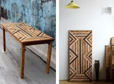 Eye-Catching Design: Salvaged Wood Dining Tables by Ariele Alasko | The Kitchn