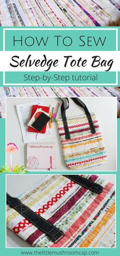 How To Sew Selvedge Tote Bag