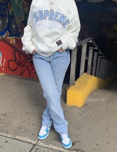 Cute Swag Outfits, Cute Comfy Outfits, Chill Outfits, Dope Outfits, Retro Outfits, Stylish Outfits, Tomboy Outfits, Outfits With Jordans, Girl Jordans