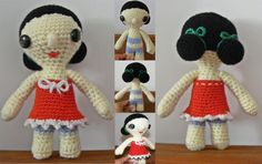Puppe * gehäkelt * crochet  https://www.facebook.com/fraeuleinwollwunder