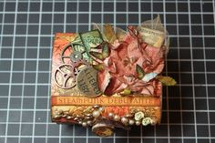 The Invention ~ Steampunk Debutante Altered Cigar Box | Graphic 45 Steampunk Debutante Altered Box & Mini