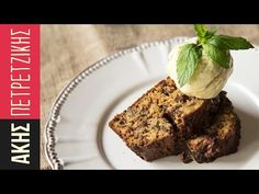 Banana bread by Greek chef Akis Petretzikis! This banana bread is rich, moist and absolutely scrumptious packed with loads of banana, chocolate and walnuts! Chocolate Banana Bread, Chocolate Hazelnut, Chocolate Spread, Pie Cake, Greek Recipes, Sweet Bread, Coffee Cake, Yummy Cakes, Delicious Desserts