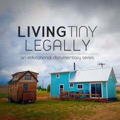 Living Tiny Legally is a documentary film / documentary series / educational documentary on legal issues surrounding tiny housing, tiny house on wheels & tiny house on foundation. Featuring case studies and an inside look into community planning, zon Tyni House, Tiny House Living, Small Living, House Floor, Tiny House Movement, Tiny House Plans, Tiny House On Wheels, Camping Glamour, Minimaliste Tiny House
