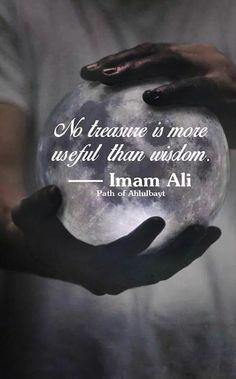 MAULA Ali. The wise and noble