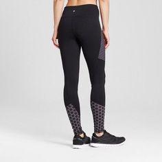 Women's Freedom Leggings with Printed Piecing - C9 Champion - Black Xxl