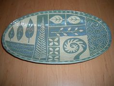 sgraffito pottery
