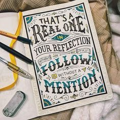 Hand Lettering Quotes, Hand Drawn Lettering, Types Of Lettering, Lettering Styles, Brush Lettering, Lettering Design, Calligraphy Letters, Typography Letters, Typography Poster