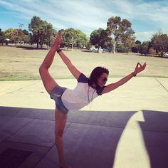 Day 6 of the 10 day @hotyogaflame #balance challenge. #natarajasana or #dancerspose.