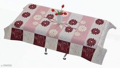 Table Cover Table Cover  *Material * Polyster  *Size ( L X W ) * 40 In X 60 In  *Thickness * 15 mm  *Description * It Has 1 Piece Of 4 Seater Table Cover  *Sizes Available* Free Size *   Catalog Rating: ★4.2 (1133)  Catalog Name: Elegant Table Covers Home & Kitchen Utilities Vol 4 CatalogID_166872 C129-SC1637 Code: 091-1306556-