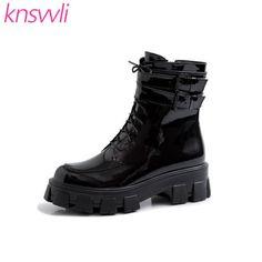 Compre Size35 45 Hombres Mujeres Botas Plataforma Impermeable Piel Mujer Zapatillas De Deporte Calientes Del Tobillo Bota De Nieve Mujer Invierno