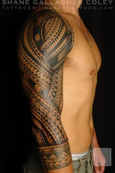 Sexy tattoo for a guy