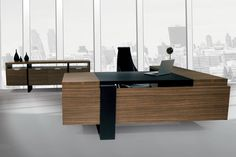 Contemporary Wood Office Furniture High End Modern Contemporary Ceo Office Furniture Executive Desk Wood Office Desk, Office Table Design, Modern Office Desk, Office Computer Desk, Office Designs, Modular Office, Office Sofa, Office Chairs, Executive Office Furniture