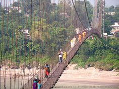 Swinging Bridge, Chitwan ~ Nepal