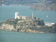 Looking at Alcatraz from Coit tower