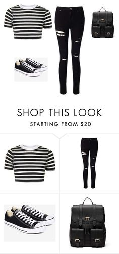 """Untitled #89"" by shortiiiee on Polyvore featuring Topshop, Miss Selfridge, Converse and Sole Society"