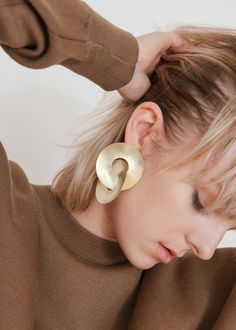 Fay Andrada Disc Earrings – The Frankie Shop