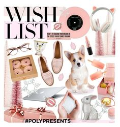 """#PolyPresents: Wish List"" by cutandpaste ❤ liked on Polyvore featuring Nordstrom Rack, Corgi, MAC Cosmetics, Judith Leiber, Dita, Floyd, Big Bud Press, Disney, contestentry and polyPresents"