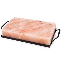 Natural Himalayan Block Cooking Salt Plate + Holder Stovetop BBQ Grill for sale online Bbq Grill, Grilling, Magnetic Dart Board, Bbq Tool Set, Serving Table, Plate Holder, Grill Master, Himalayan Salt, Butcher Block Cutting Board