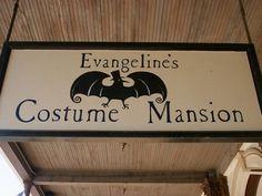 Evangeline's Costume Mansion, Sacramento.