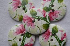 Buttons are truly perfect as a pretty finishing touch to handmade cards, gift tags, scrapbooks, sewing and much more!price shown per 1 button 1 Button, Button Flowers, Scrapbooks, Handmade Cards, Gift Tags, I Shop, Touch, Sewing, Pretty