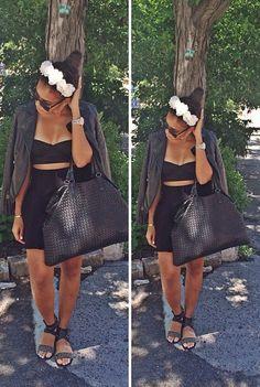 #AllBlack #Style #AngelaSimmons