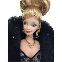 Nolan Miller Evening Illusion Barbie Vintage Barbie Dolls, Illusions, Faux Fur, Lace, Fashion, Moda, Fashion Styles, Fashion Illustrations, Fashion Models