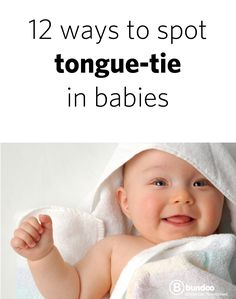 If you experience pain while breastfeeding, read this > 12 Ways to Spot Tongue Tie in Babies