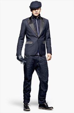 (3) Mens Smoking Jacket