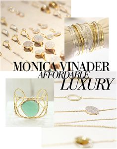 I must've walked past the little Monica Vinader boutique on South Molton Lane dozen of times...