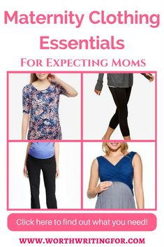 0ca953b215233 Getting ready to shop for maternity clothes? This list has the essentials  you need for