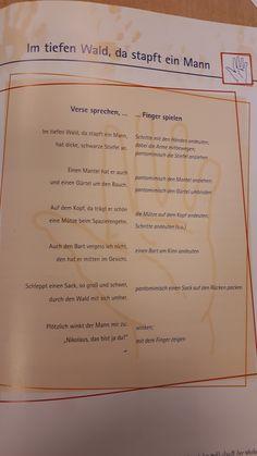 Kindergarten Portfolio, Kindergarten Activities, Winter Christmas, Baby Kids, Religion, Children, German Language, Kindergarten Games, Kids Poems