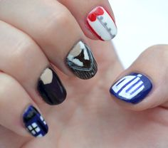 20 Doctor Who Nail Designs For Every TARDIS-Loving Fan Girl