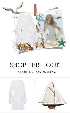 """""""Beach Beauty"""" by sasane ❤ liked on Polyvore featuring Talitha and Authentic Models"""