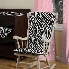 Black and White Zebra Nursery Décor | Carousel Designs 500x500 image