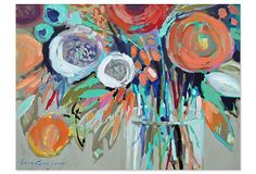 Erin Gregory, Efflorescence 6 on OneKingsLane.com Great emerging new artist  YD
