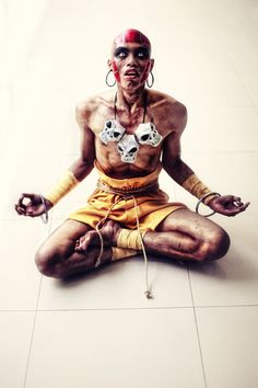 Character: Dhalsim / From: Capcom's 'Street Fighter' Video Game Series / Cosplayer: Paulo Amistuoso / Photo: Paolo Marco Mañalac Photography (2013)