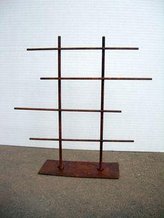 SHORT Rustic Metal Jewelry Display Rack. $68.00, via Etsy.