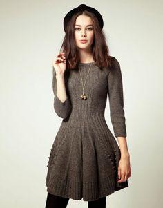Платье-колокольчик спицами. Обсуждение на LiveInternet - Российский Сервис Онлайн-Дневников